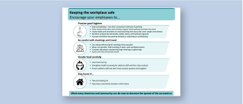CDC: Keeping Workplaces, Homes, Schools, or Commercial Establishments Safe