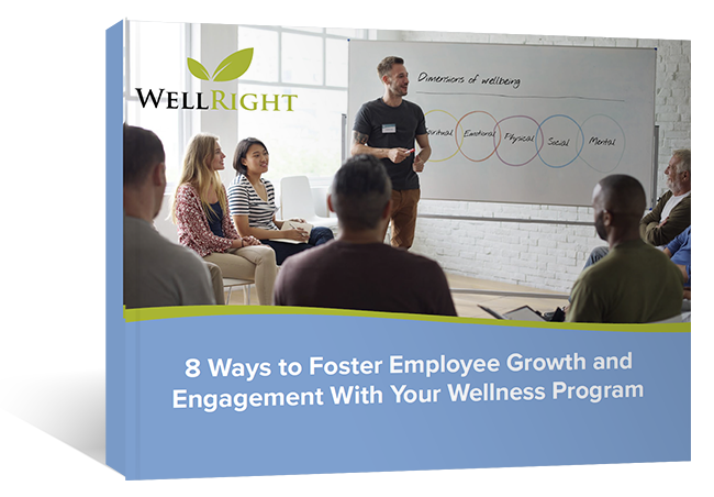 Download our Ebook: 8 Ways to Foster Employee Growth and Engagement With Your Wellness Program