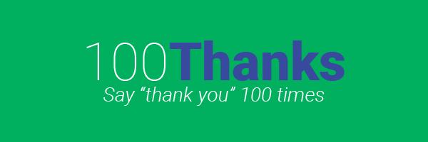 100 Thanks
