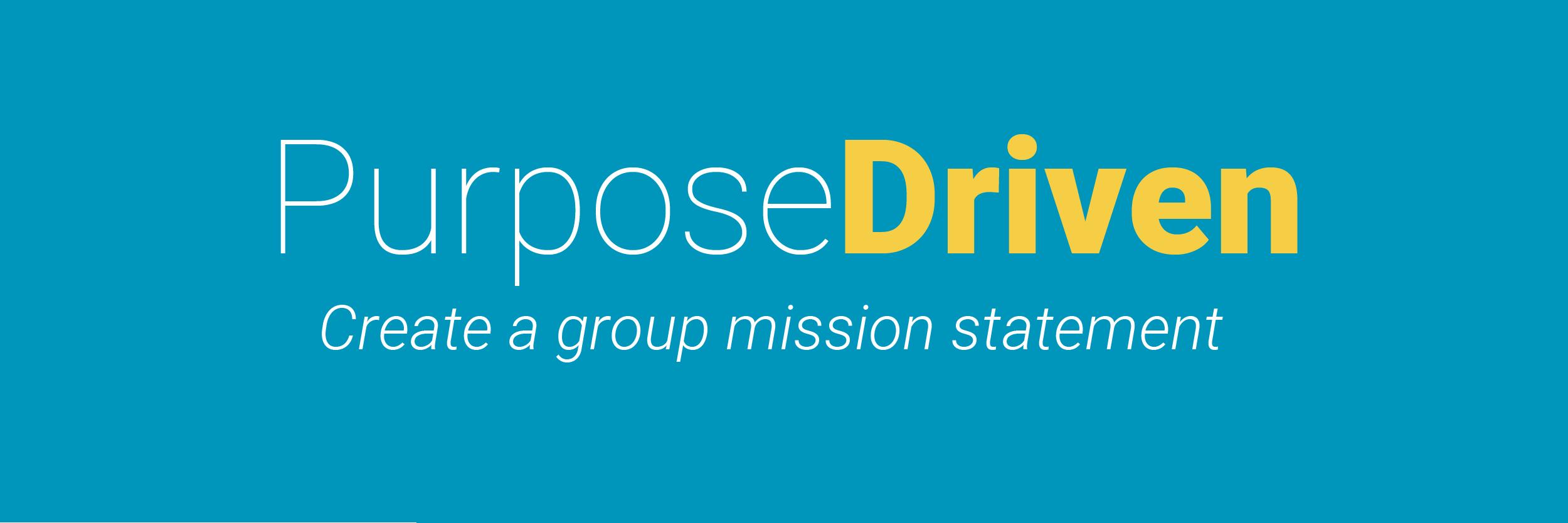 Purpose Driven-01