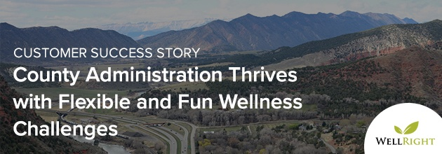 County Administration Thrives with Flexible and Fun Wellness Challenges