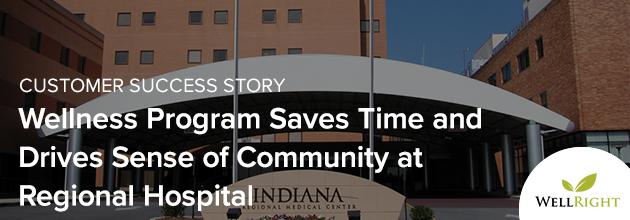 Wellness Program Saves Time and Drives Sense of Community at Regional Hospital