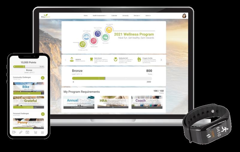 WellRight Corporate Wellness Portal
